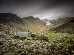 Warnscale Bothy (tdove77) Tags: warnscale bothy buttermere crummock water haystacks high stile fleetwith pike long exposure lee 10 stop filter lumix panasonic gh3 mirrorless micro four thirds lake district cumbria
