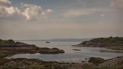 They say a bad days Fishing outweighs a good day at the Office.. (Harleynik Rides Again.) Tags: glenelg sandaig highlands soundofsleat fishing boat sky loch sea scotland harleynikridesagain