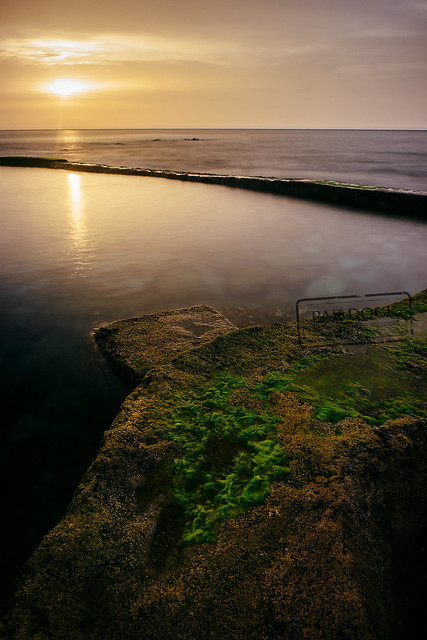 Ocean pool Sunset - El Hierro