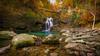 Cascada de Vintgar Sum (Pedro P. Galindo) Tags: lanscape naturephotografy autumm water waterfall eslovenia vintgarsumjubilautas