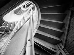 Boott Cotton Mills (DMWardPhotography) Tags: lowell boottcottonmill massachusetts history lines architecture monochrome bw blackwhite spiral stairs