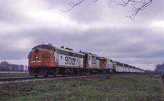 A Fine Set of Power (ac1756) Tags: soo sooline soosubdivision emd fp7 fp7a 500a 911 train911 troutlake michigan mp447
