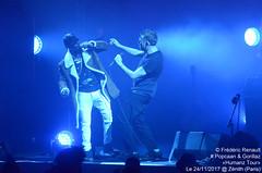 Popcaan & Damon Albarn (P-ZiB) Tags: damonalbarn popcaan gorillaz concert humanztour zenith paris