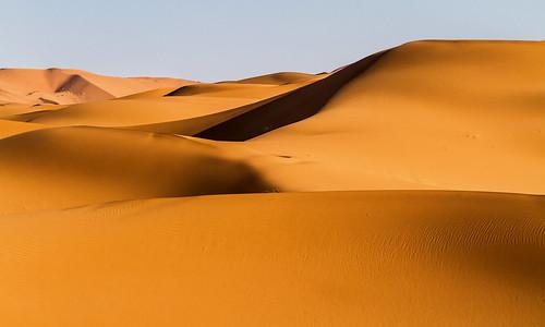 Licht und Schatten in der Sahara