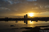 Sunrise over Chatham Dockyard (daveseargeant) Tags: sunrise medway chatham dockyard leica x typ 113