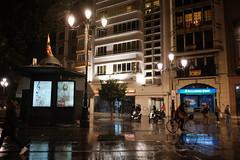 XE3F6216 (Enrique Romero G) Tags: avenida constitución lluvia rain noche night nocturna sevilla spain fujixe3 fujinon18f2
