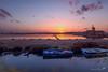 Saline di Marsala (dwarfphotos) Tags: italia sicilia trapani marsala saline mulino water mill sunset landescape