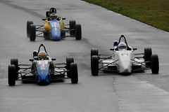 9b - Chisnall gets back into 2nd & harries Hutchinson but won't get ahead (Boris1964) Tags: 2006 clubformulaford northwest anglesey