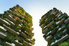 Green Buildings Bosco Verticale in Milan (Bart Ros) Tags: ifttt 500px trees leaves sky buildings clouds italy urban architecture abstract cityscape building green skyline lines cloud vertical milan skyscrapers milano natura bosco verticale boscoverticale