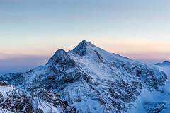 Atop Mt Titlis, Switzerland (gnowad) Tags: titlis switzerland swiss travel landscape peak mountaintop sunset hues color sky snow ski alps alpine