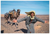 Berber Guide, Merzouga, Morocco (Bigmob Dontwannastop) Tags: desert morocco man young male berber african moroccan sand sun animal dromedary transport blue sky