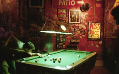 Ass Juice (R. WB) Tags: bar new york beer ass juice billiard pool table playing night drinks alcohol manhattan