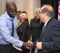 Citizenship Court ceremony held today in Charlottetown at the Confederation Centre of the Arts. (Government of Prince Edward Island) Tags: citizenship citizen immigrants swearing sworn nationalities foreign children adults parents rcmp court