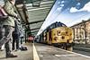 Attracting a crowd (Blaydon52C) Tags: 37 cumbrian coast carlisle trains train transport railroad railway northern cumbria locomotive class37 37403 2c34 2c49