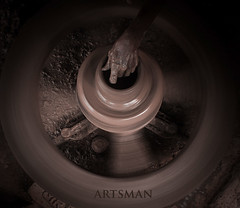 Artsman. (1) (nshrishikesh) Tags: artsman pottery art artists canon canon600d chennai photography