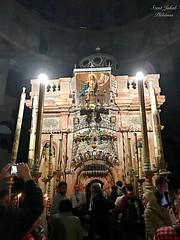 90 - Szent Sír a Szent Sír templomban / Boží hrob v Bazilike Božieho hrobu