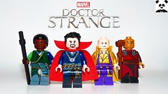 Doctor Strange (Random_Panda) Tags: marvel lego figs fig figures figure minifigs minifig minifigures minifigure purist purists character characters comics superhero superheroes hero heroes super comic book books films film movie movies tv show shows television avengers avenger mcu assemble infinity war doctor strange karl mordo the ancient one wong sanctum sanctorum