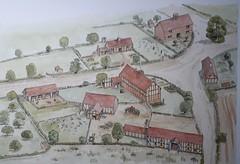 The farm at Broom Close, Cophill, Bedfordshire