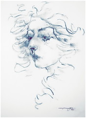 P1017409 - Copy (Gasheh) Tags: art painting drawing sketch portrait girl pastel line gasheh 2017