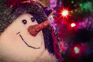 Christmas With Snowlady