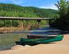 Waiting - Ponca Access on Buffalo River - Northwest Arkansas (danjdavis) Tags: canoes canoeing buffaloriver buffalonatoinalriver bridge highway74bridge arkansas