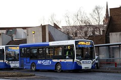 McGill's, Greenock 8424 SN10CAE (busmanscotland) Tags: mcgills greenock 8424 sn10cae sn10 cae ad adl alexander dennis e200 enviro 200