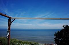 bike trip day one (Philip@Tamsui) Tags: ricoh grdigital grd grii bike bicycle 西部單車第一天 blue sky