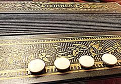 Macro Mondays Theme..... Button Accordion. (tooram butterfly) Tags: macromonday memberschoice musicalinstrument