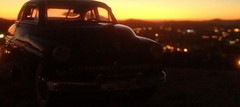 sunset november 6, 1950 (Francisco.Pimentel) Tags: fifties mercury ford 1949 car braga all4car dayligth 124 diecast model toy sunset danbury mint iphone