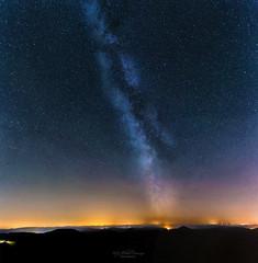 Starry night (Rita Eberle-Wessner) Tags: landscape landschaft milkyway milchstrase sterne stars night nacht sky universe universum galaxie galaxy himmel nachthimmel