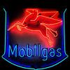 Mobil Gas (avilon_music) Tags: mobilgas mobil servicestationsigns vintageneonsigns neon neonsigns americana pegasus iphonepics gasstationsigns vintageneon