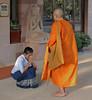 Siem Reap (Cambodia) (Guy World Citizen) Tags: ritual street priest people siemreap cambodia ngc