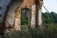 Abandoned Church. (Oleg.A) Tags: ancient building cathedral church old brick outdoor evening countryside penzaregion abandoned interior russia nature inside orthodox ruined architecture materials antique destroyed wall saintmichaelthearchangelchurch catedral outdoors penzenskayaoblast ru