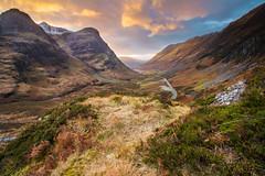 Glencoe (Mark Callander) Tags: glencoe scotland scottishhighlands three sisters sunset