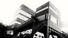 Ruhr Museum (frankdorgathen) Tags: perspective wideangle monochrome blackandwhite building architecture ruhrmuseum window stone brick zeche zollverein essen stoppenberg ruhrgebiet urban industry industriekultur