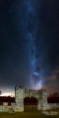 Stargate ... (Mike Ridley.) Tags: featherstonecastle milkyway panorama northumberland nlandstars sonya7s samyang24mmf14 mikeridley nature nightscene nightphotography astrophotographer astrophotography