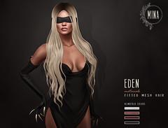 MINA Hair - Eden for Kinky Event (MINA Hair) Tags: minahair secondlife eden kinky event blindfold