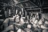drums (p_v a l d i v i e s o) Tags: 24105mm 5d3 canon5d canon5dmk3 canonef24105mmf4lisusm canoneos5dmarkiii ef24105mmf4 bw blackandwhite blackgunpowder drums monochrome monocromatico monocromatique monocromático splittoning storage