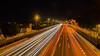 Autovía (Milo10050) Tags: velocidad speed coche car carro automovil noche hora punta traffic trafico autovía highway luces lights