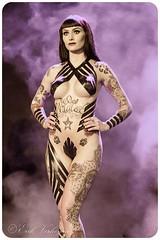 Brussels Tattoo Convention 2017 Wildcat ink Sarai