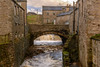 DSC_0059 - Gayle Beck at Hawes... (SWJuk) Tags: swjuk uk unitedkingdom gb britain england yorkshire yorkshiredales dales wensleydale northyorkshire hawes river gaylebeck flood spate buildings stonebuilt town water flowing 2017 nov2017 holidays autumn nikon d7100 nikond7100 18300mm rawnef lightroomclassiccc