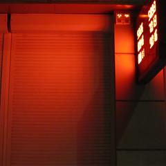 Orange night (unlucky_one) Tags: light night scoreboard orange shutters