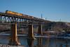 All SD consist (Going Trackside Photography) Tags: emd emdx edmonton alberta canada canadian national railway yard transfer clover bar cloverbar north saskatchewan river nsr explore
