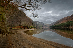 The Upper Lake  [Explored December 10th 2017] (fearghal breathnach) Tags: glendalough reflection winter lake wicklow threeleggedthing nisifilters glendaloughlake glendaloughvalley