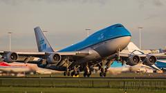 PH-BFR (tynophotography) Tags: ams eham schiphol amsterdam phbfr airport klm 747 747400 744 boeing