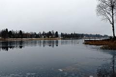 Nurmes / Aikamatkaajat (Tuomo Lindfors) Tags: suomi finland nurmes aikamatkaajat nurmesjärvi järvi lake vesi water dxo filmpack