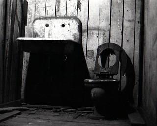 Old toilet under Seattle