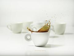 Coffee Splash 3 (michele franzese) Tags: tazzadicaffe caffè coffee cupofcoffee splash drops dropsofcoffee syncro lumix lumig lumixgh5 gh5 panasoniclumix highspeed highspeedphotography