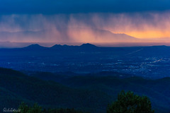 C2N_2775 (Clark Engbrecht) Tags: newmexico santafe rain mountains citys cityscape twilight blue