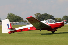 G-BTWC (GH@BHD) Tags: gbtwc za656 slingsby t61 t61f venture raf royalairforce aircadets glider motorglider trainer military aircraft aviation laa laarally laarally2017 sywellairfield sywell